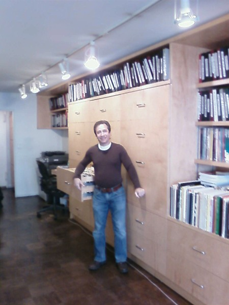"""Michael Lavine surrounded by """"the"""" collection"""