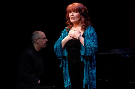 Jeffrey D. Harris -- at the keys -- with Maureen McGovern